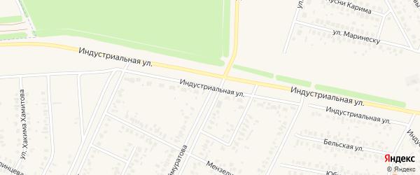 Улица Генерала Шаймуратова на карте Дюртюлей с номерами домов