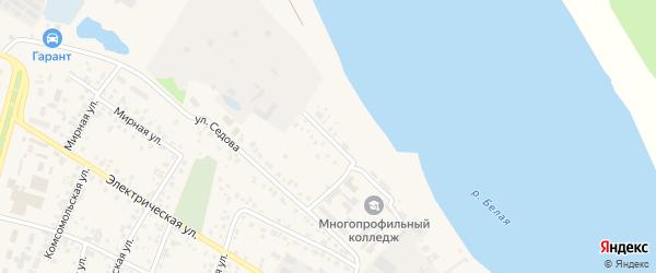 Набережная улица на карте Дюртюлей с номерами домов