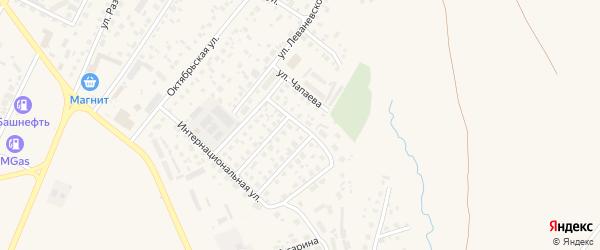 Улица Салавата Юлаева на карте Дюртюлей с номерами домов