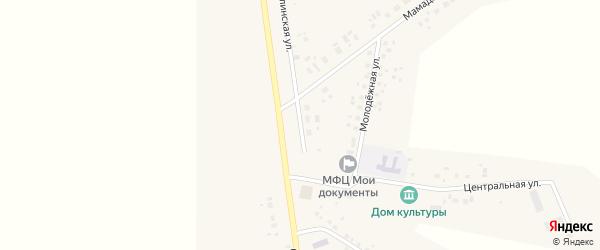 Дюртюлинская улица на карте села Суккулово с номерами домов