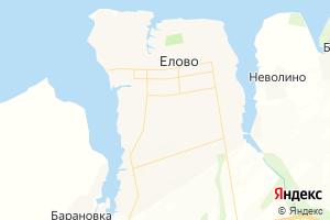 Карта с. Елово