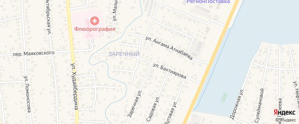 Улица Бахтиярова на карте Янаула с номерами домов