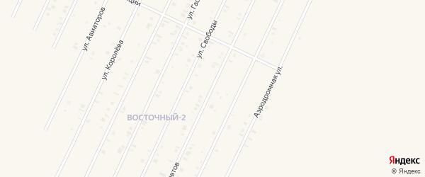 Улица Космонавтов на карте Янаула с номерами домов