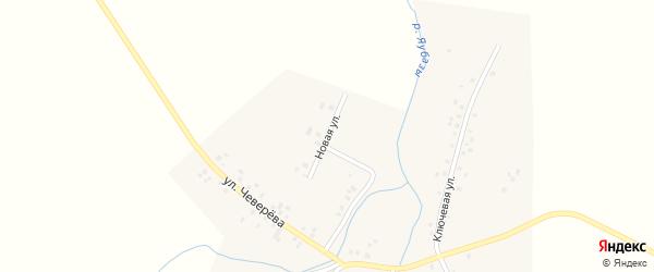 Новая улица на карте села Староянтузово с номерами домов