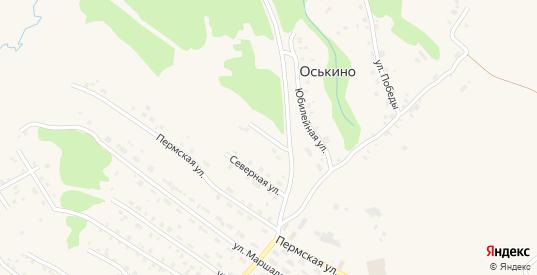 Придорожная улица в Нытве с номерами домов на карте. Спутник и схема онлайн
