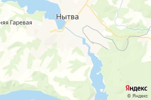 Карта г. Нытва Пермский край