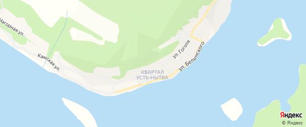 Садовое товарищество 7 ОАО Нытва на карте Нытвы с номерами домов