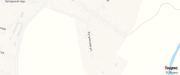 Кучумская улица на карте села Чишм с номерами домов