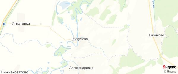 Карта Чувалкиповского сельсовета Республики Башкортостана с районами, улицами и номерами домов