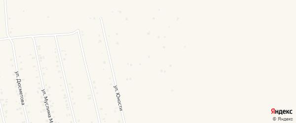 Улица Зии Нуриева на карте села Бураево Башкортостана с номерами домов