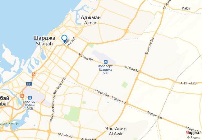 Аэропорт шарджа дубай расстояние ла меридиан дубай