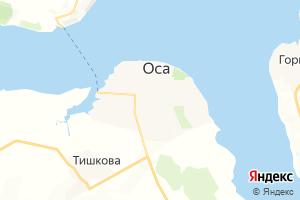 Карта г. Оса