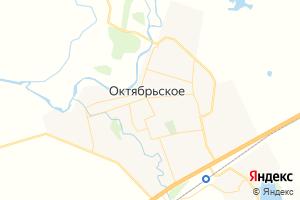 Карта с. Октябрьское Оренбургская область
