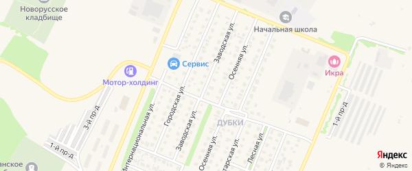 Заводская улица на карте Бирска с номерами домов
