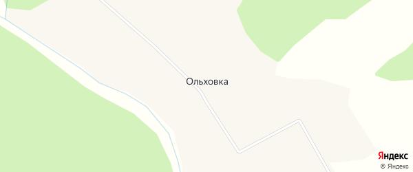 Улица Чкалова на карте поселка Ольховки Пермского края с номерами домов