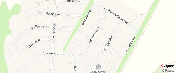 Фабричная улица на карте села Жуково с номерами домов