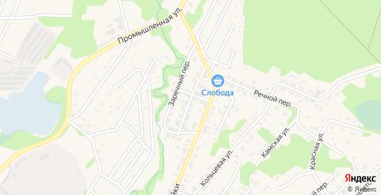 Первомайская улица в Краснокамске с номерами домов на карте. Спутник и схема онлайн