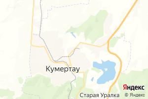 Карта г. Кумертау Республика Башкортостан