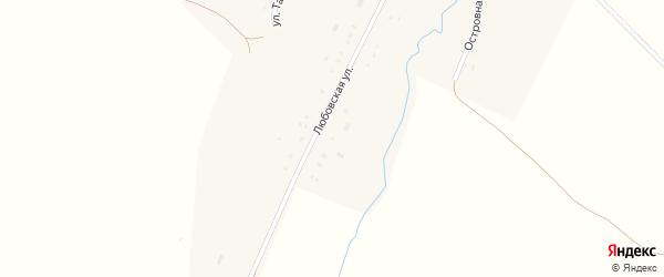 Улица Нефтяников на карте деревни Тереклы Башкортостана с номерами домов