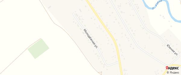 Молодежная улица на карте села Подлубово с номерами домов