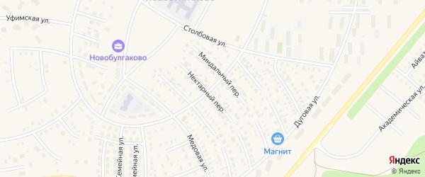 Бульвар Габдрахмана Кадырова на карте села Булгаково с номерами домов