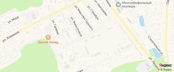 Улица Энергетиков на карте села Толбазы с номерами домов