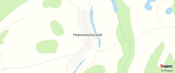 Карта деревни Новоникольского в Башкортостане с улицами и номерами домов