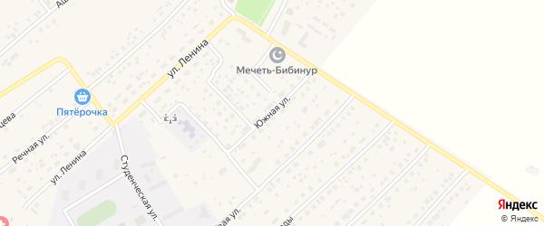 Южная улица на карте села Наумовки с номерами домов