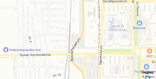 Вокзальная улица в Салавате с номерами домов на карте. Спутник и схема онлайн