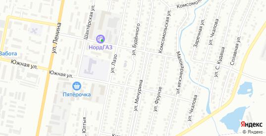 Улица Буденного в Мелеузе с номерами домов на карте. Спутник и схема онлайн