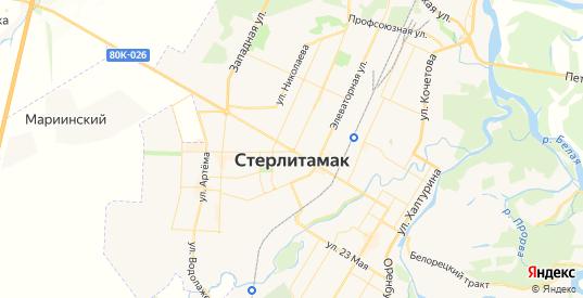 Карта Стерлитамака с улицами и домами подробная. Показать со спутника номера домов онлайн