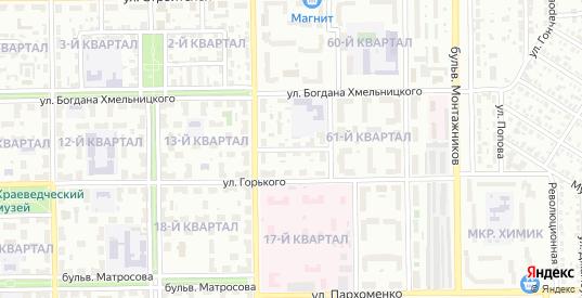 Первая улица в Салавате с номерами домов на карте. Спутник и схема онлайн