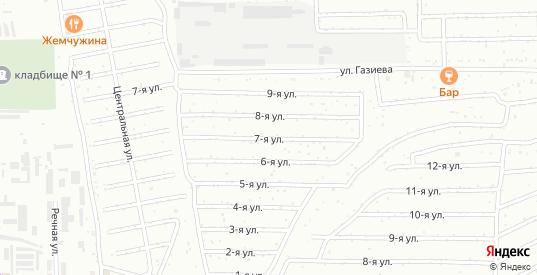 Улица 7 ноября в Салавате с номерами домов на карте. Спутник и схема онлайн