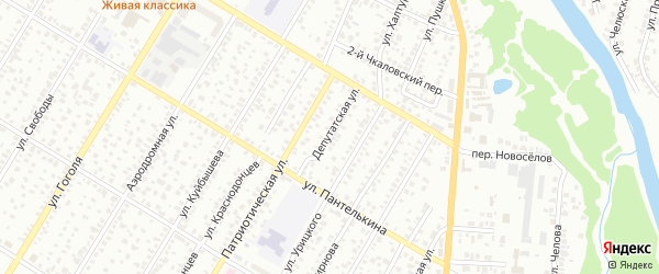 Депутатская улица на карте Стерлитамака с номерами домов