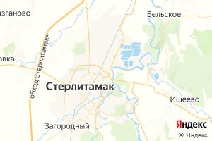Карта г. Стерлитамак Республика Башкортостан