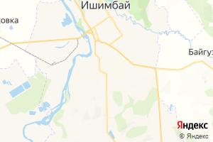 Карта г. Ишимбай Республика Башкортостан