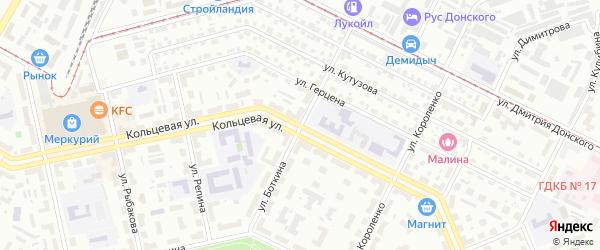 Улица Боткина на карте Уфы с номерами домов