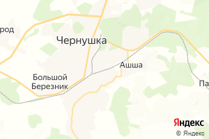 Карта г. Чернушка