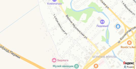 Урожайная 2-я улица в Перми с номерами домов на карте. Спутник и схема онлайн