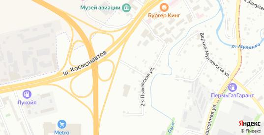 Красавинская 3-я улица в Перми с номерами домов на карте. Спутник и схема онлайн