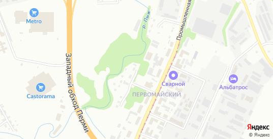 Пыжевская 1-я улица в Перми с номерами домов на карте. Спутник и схема онлайн
