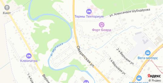 Кордонная 2-я улица в Перми с номерами домов на карте. Спутник и схема онлайн
