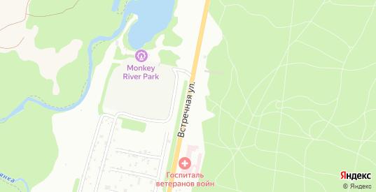 Встречная улица в Перми с номерами домов на карте. Спутник и схема онлайн