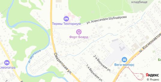 Кордонная 3-я улица в Перми с номерами домов на карте. Спутник и схема онлайн
