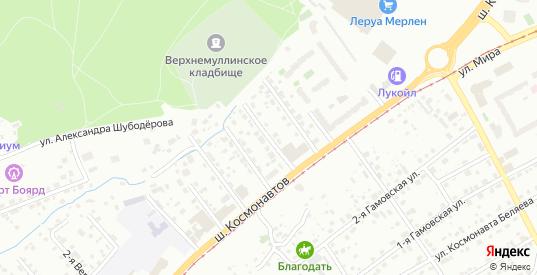 Ипподромная 4-я улица в Перми с номерами домов на карте. Спутник и схема онлайн