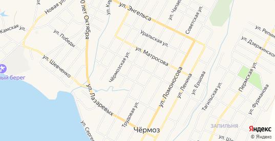 Карта территории Старое Питкино урочище в Чермозе с улицами, домами и почтовыми отделениями со спутника онлайн