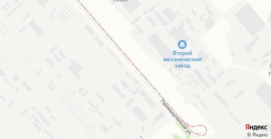 Промышленная улица в Перми с номерами домов на карте. Спутник и схема онлайн