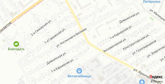 Дивьинская улица в Перми с номерами домов на карте. Спутник и схема онлайн