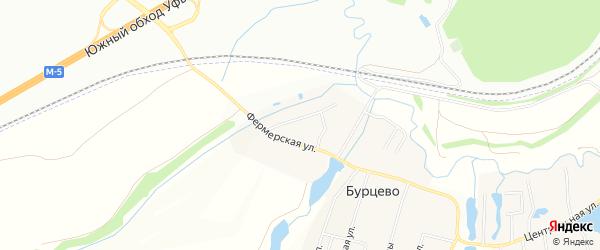 Карта деревни Исаково в Башкортостане с улицами и номерами домов