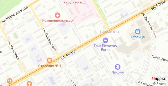 Улица Комбайнеров в Перми с номерами домов на карте. Спутник и схема онлайн